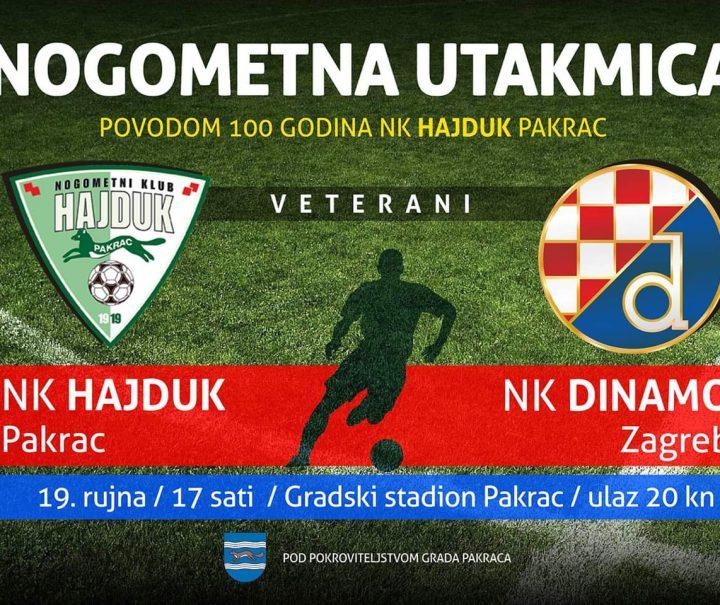 NA GRADSKOM STADIONU Hajduk ugošćuje veterane Dinama
