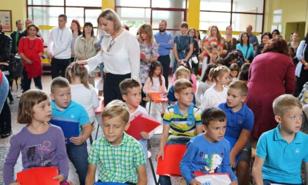 OŠ BRAĆE RADIĆA Obavijest o polasku učenika prvih razreda