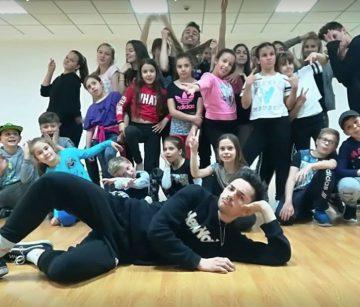 PLESNI KLUB DOLCE PAKRAC-LIPIK Hip hop radionica za male plesače
