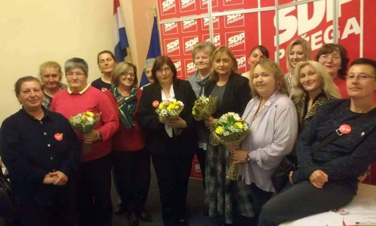 IZBORNA SKUPŠTINA FORUMA ŽENA SDP-A Mihajli Pavković novi mandat