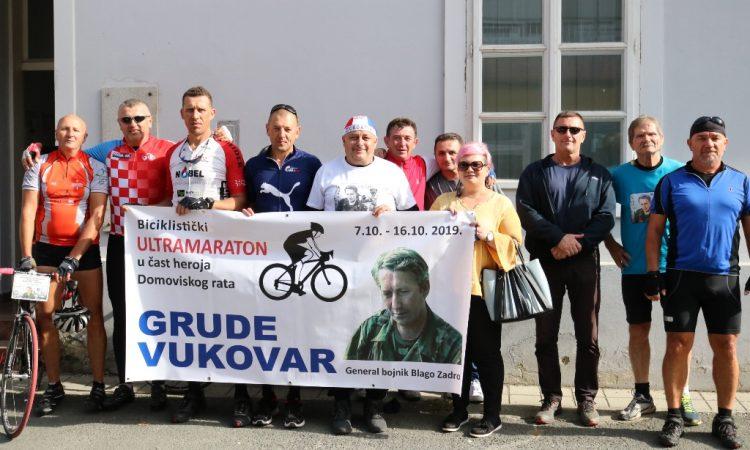 """BICIKLISTIČKI ULTRAMARATON """"BLAGO ZADRO"""" Maratonci prošli i kroz Pakrac"""