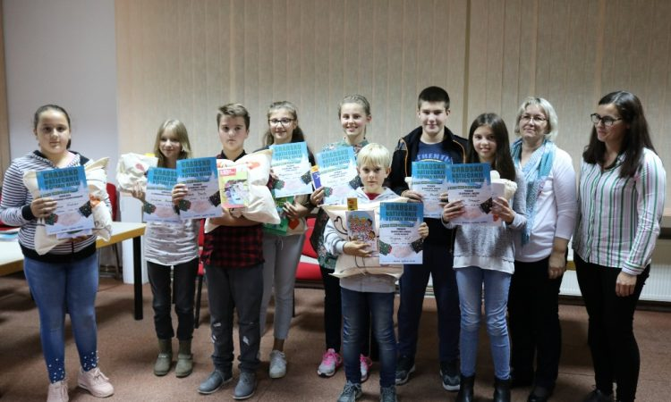 GRADSKA KNJIŽNICA PAKRAC Fran Bralo i Antonija Kiš pobjednici u natjecanju čitanja naglas