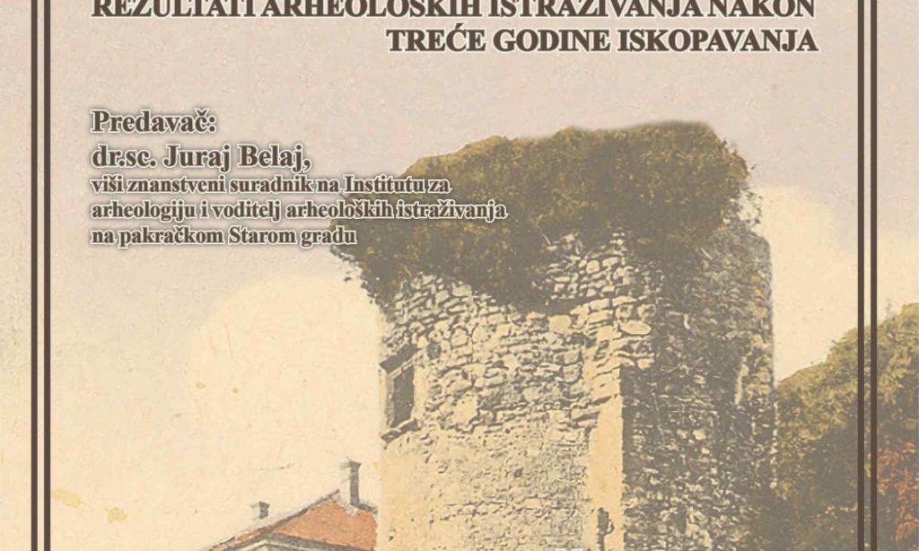 GRADSKA VIJEĆNICA JANKOVIĆ Predstavljanje rezultata ovogodišnjih arheoloških iskopavanja