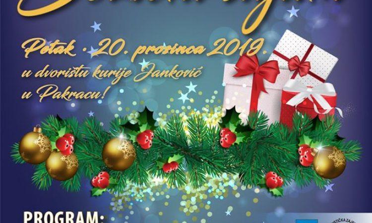 20. PROSINCA Božićni sajam u kuriji Janković