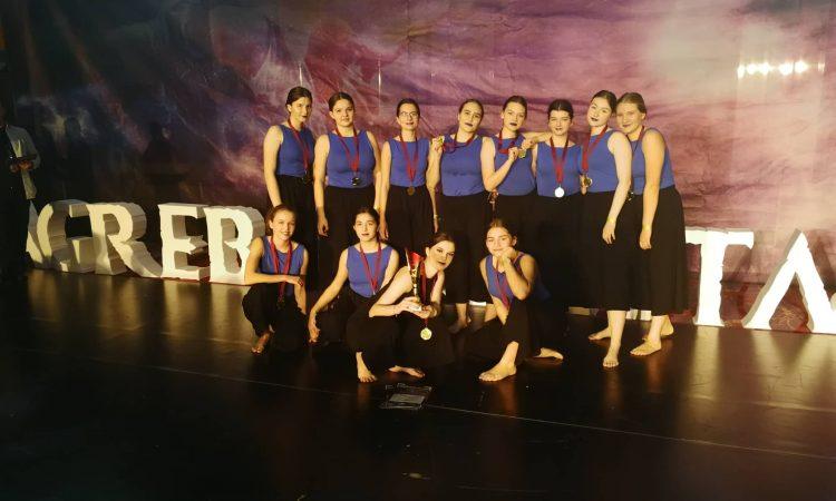 PLESNI KLUB DOLCE Prvo i treće mjesto našim plesačicama