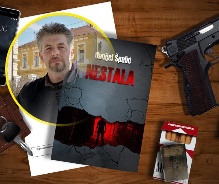 NOVI ROMAN DANIJELA ŠPELIĆA Krimić inspiriran lokalnom ubojstvom
