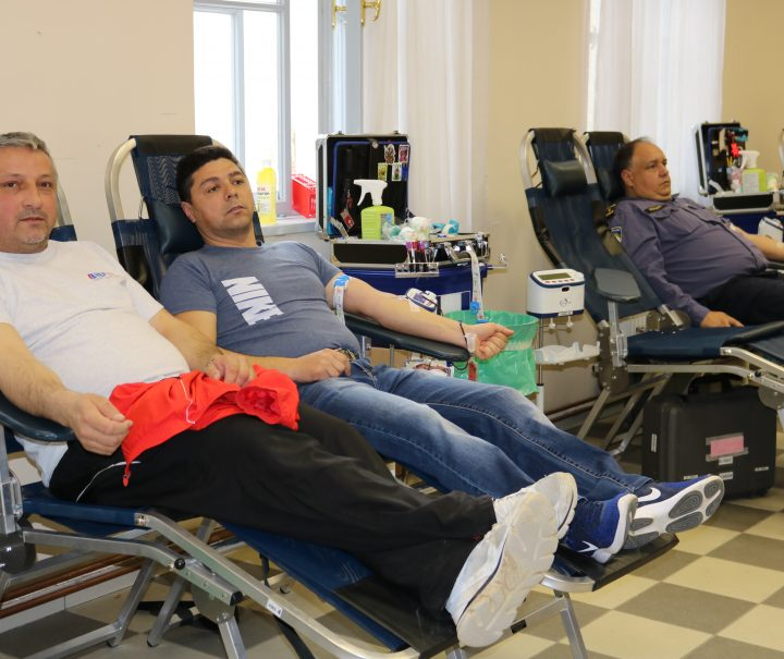 GD HCK PAKRAC Prikupljeno 114 doza krvi