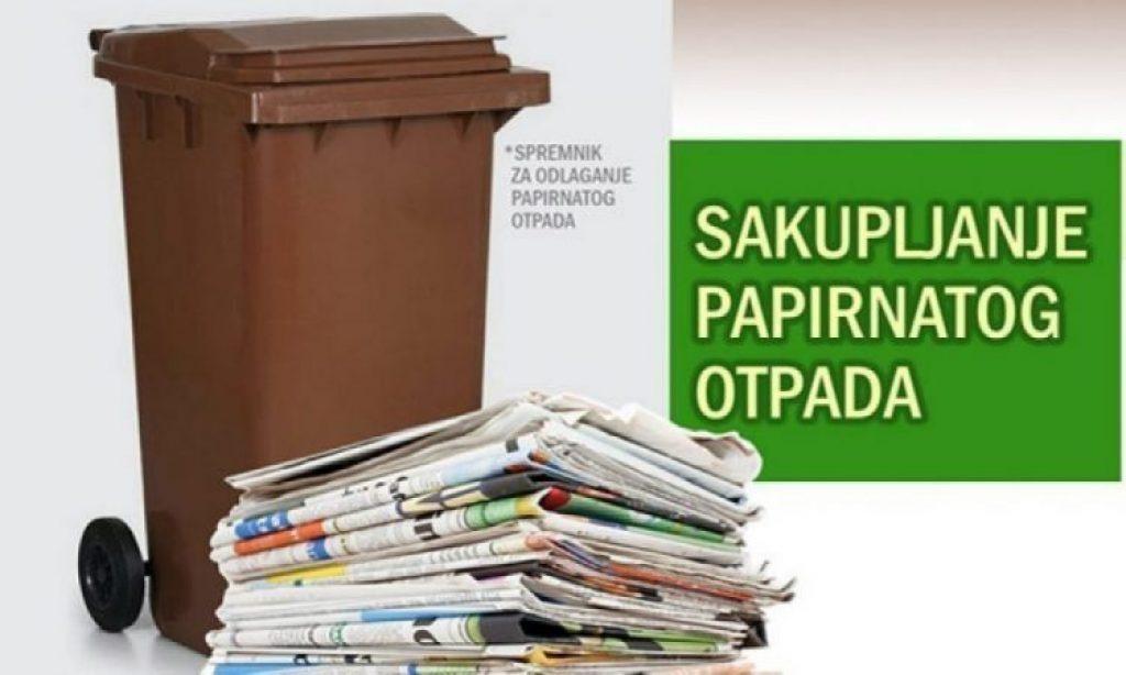 KOMUNALAC Od srijede do petka odvoz papirnatog otpada