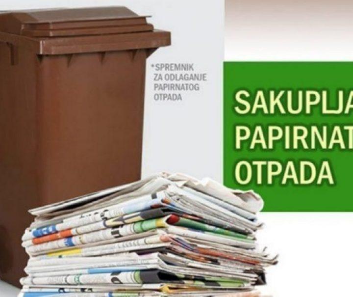 KOMUNALAC – Tjedni raspored odvoza papirnatog otpada
