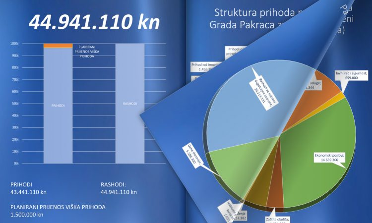 NOVI DOKUMENT GRADSKE UPRAVE  Proračun u malom