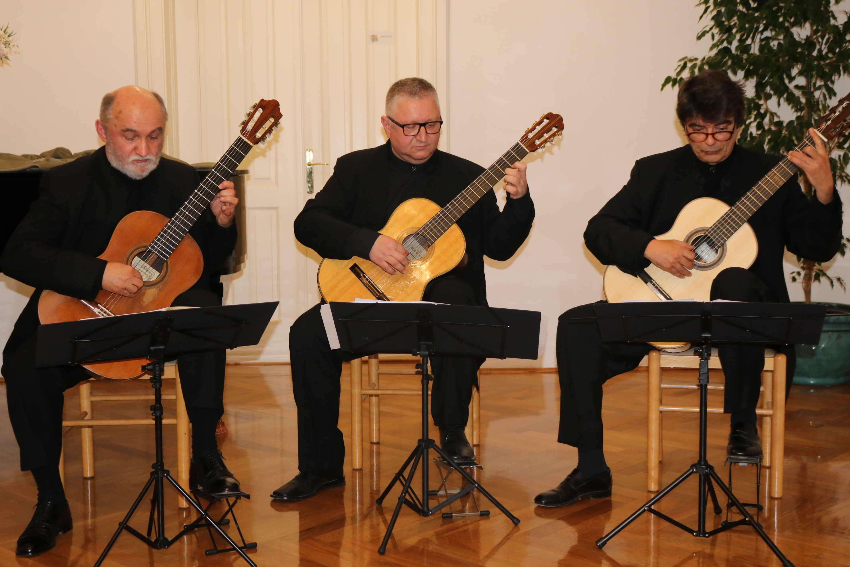 Ogs Pakrac Zagrebacki Gitarski Trio Gostovao U Pakracu