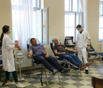 GD CK PAKRAC Krv darivalo 111 osoba