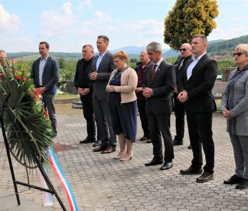 Gradski čelnici i predstavnici udruga obilježili Dan državnosti