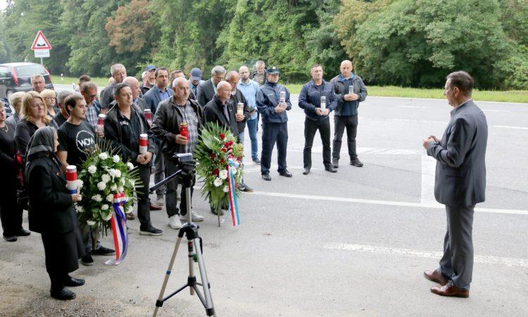 Komemoracija povodom 29. godišnjice pogibije Vlade Laučana
