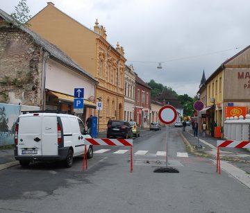 POČELO KOPANJE NA AGLOMERACIJI  Ulica zatvorena za automobilski promet