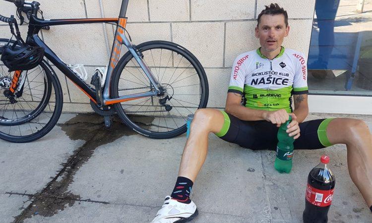 MARKO LJEVAR, BICIKLIST IZ PAKRACA Malo do Dubrovnika: U tri dana 834 kilometra biciklom