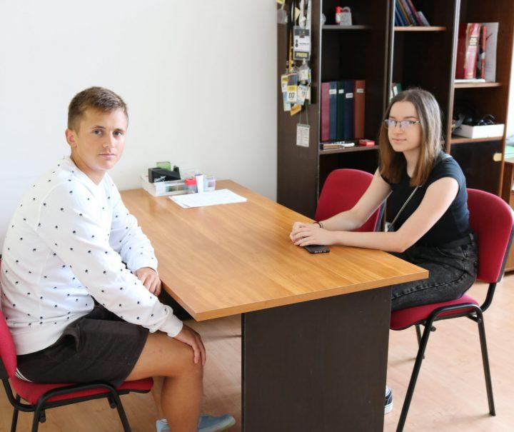 MARTINA TOMIĆ I NIKŠA GRUBIŠIĆ – NOVI STUDENTI  Budućnost će graditi u Hrvatskoj, možda i u Pakracu