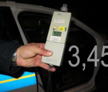 IZ POLICIJE Za volanom s 3,45 promila