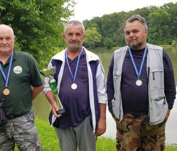 """RIBOLOV – ŽUPANIJSKA LIGA: ŠRD """"Pakrac"""" ekipni pobjednik, Leš najbolji pojedinac"""
