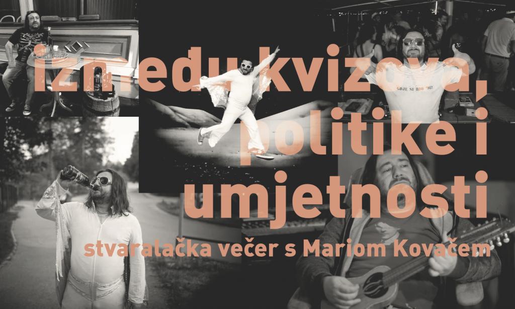 U HRVATSKOM DOMU Gostuje redatelj Mario Kovač