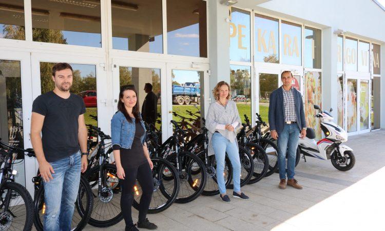 NOVO U PONUDI SPORTSKE ZAJEDNICE: Stigli bicikli namijenjeni unajmljivanju