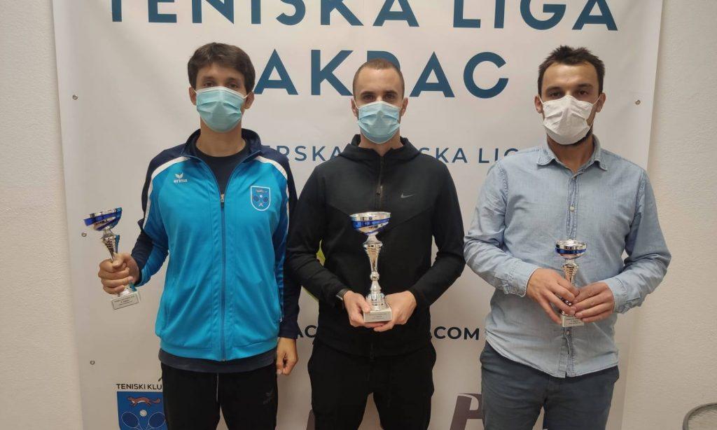 TENISKA LIGA 2020: Krznarić osvojio, Rosić i Perković najbolji Pakračani