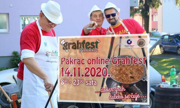 """UDRUŽENJE OBRTNIKA&POVIJESNO DRUŠTVO PAKRAC-LIPIK Umjesto onog pravog, u subotu """"Online Grahfest""""!"""