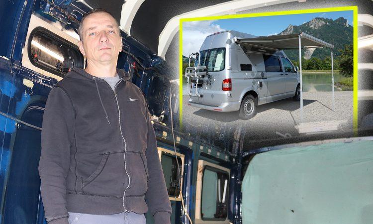 """ŽELJKO LIPUŠIĆ U mojoj tvrtki """"Panonia Camperi"""" polovne kombije pretvaram u vrhunske kampere"""