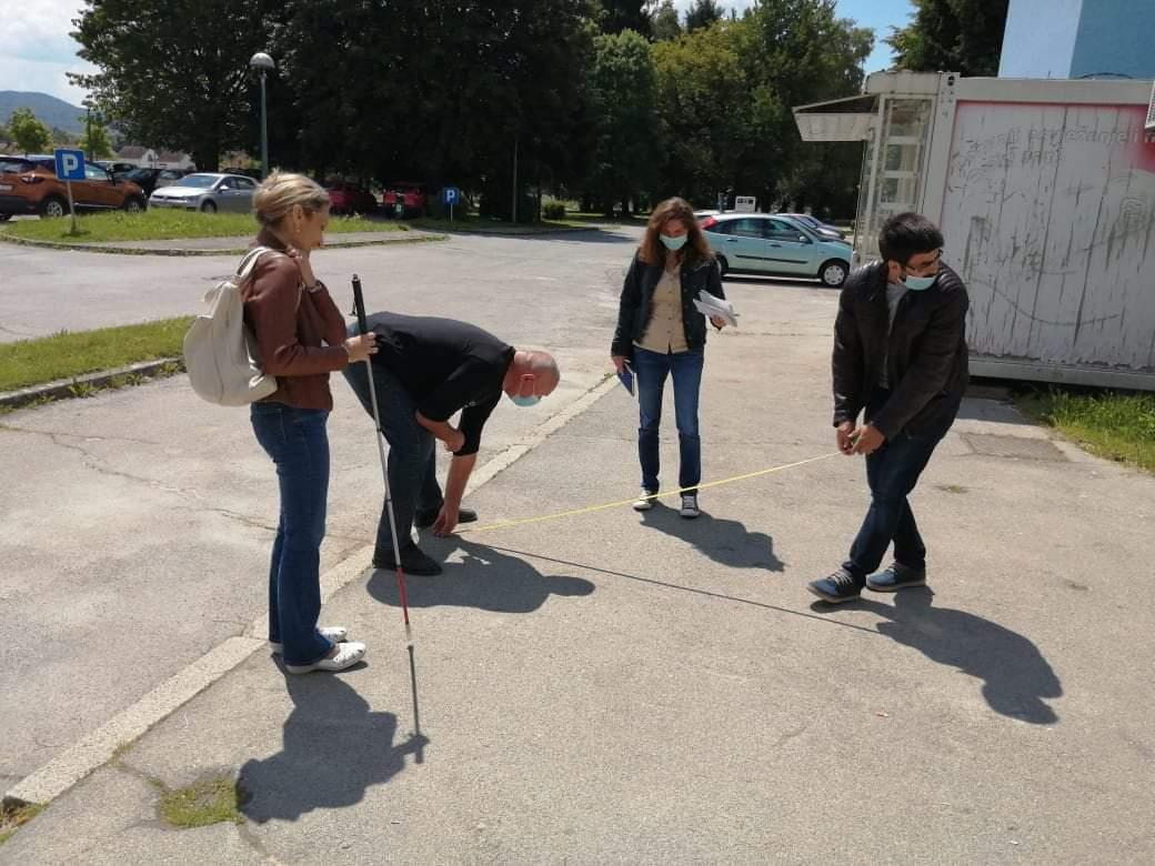 mjerenje slijepi bolnica