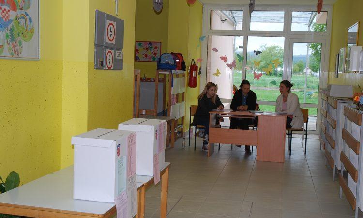 IZBORI ZA EUROPSKI PARLAMENT Kutije čekaju 7022 birača