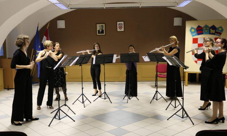 OGŠ PAKRAC Održan koncert Zagrebačkog ansambla flauta